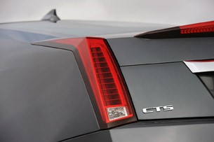 2011 Cadillac CTS-V Coupe taillight