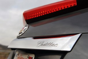 2011 Cadillac CTS-V Coupe rear trim