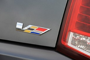 2011 Cadillac CTS-V Coupe badge
