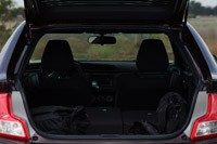 2011 Scion tC rear cargo area