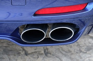 2011 BMW Alpina B7 exhaust system