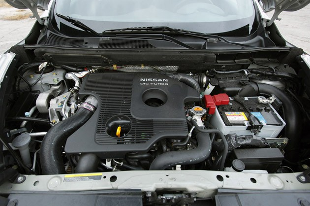 2011 Nissan Juke engine