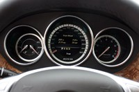 2012 Mercedes-Benz CLS63 AMG gauges