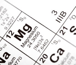 magnesium on periodic table of the elements