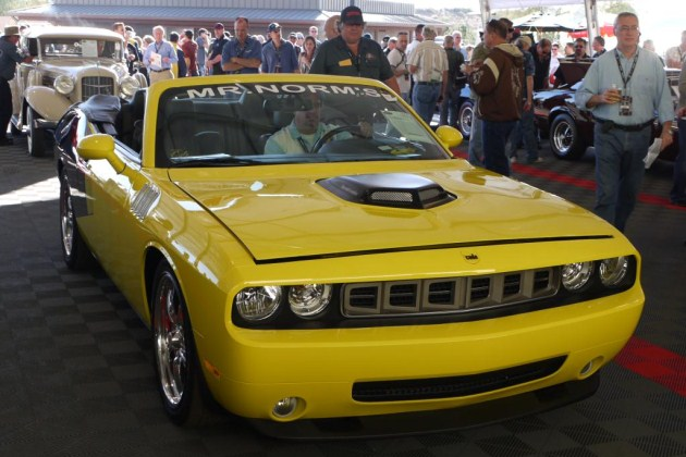 2009 cuda convertible by mr norm s at barrett jackson click above for