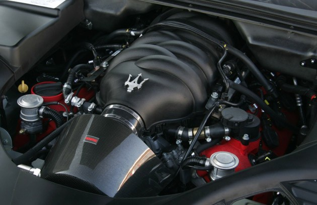 Maserati Quattroporte engine