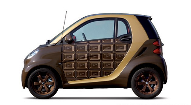 Chocolate Smart ForTwo by Q-Pot
