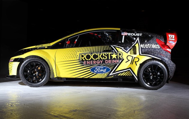 images of 2011. Tanner Foust's 2011 Ford Fiesta rallycross racer – Click above for high-res