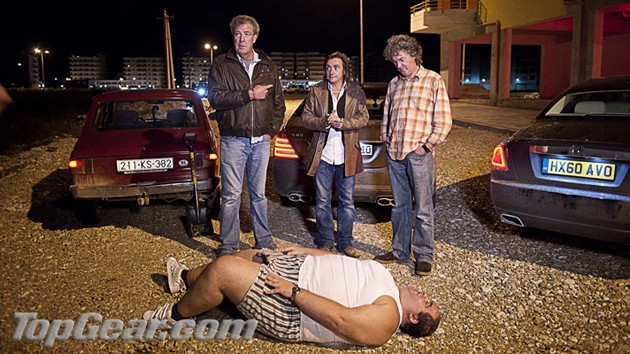 Top Gear hosts