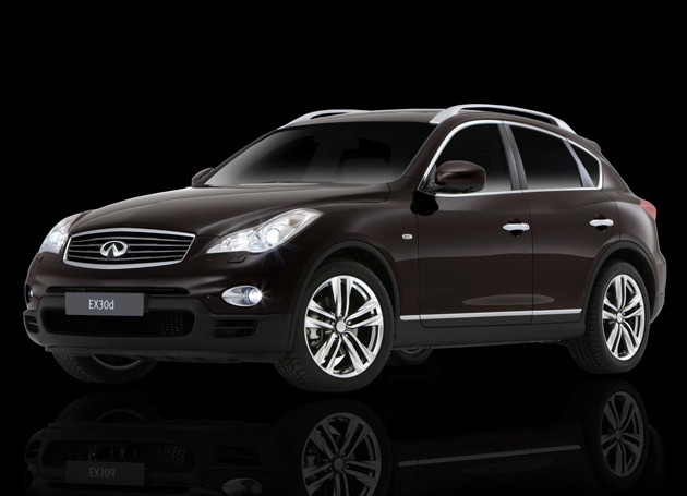 Infiniti EX30d Black Premium
