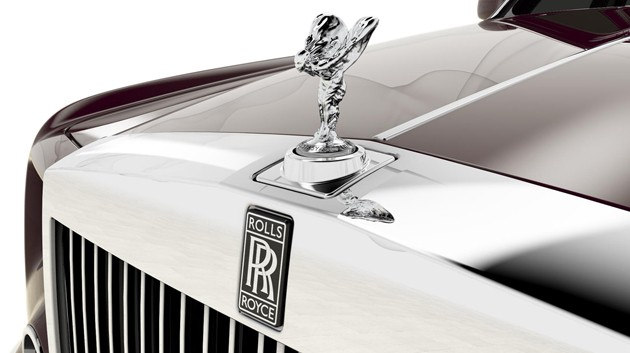 Rolls-Royce Phantom Spirit of Ecstasy Centenary Collection