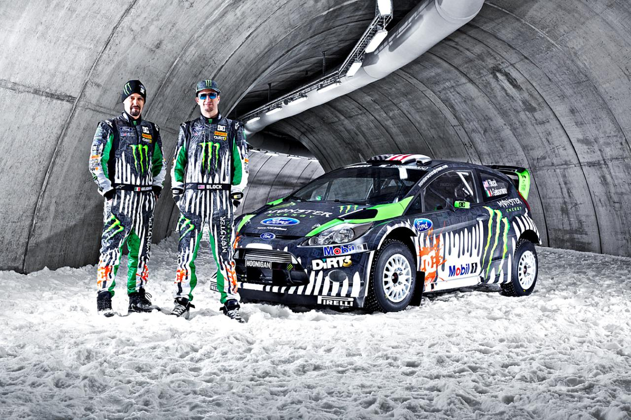 2011 Monster Energy Ford Fiesta RS WRC Photo Gallery - Autoblog
