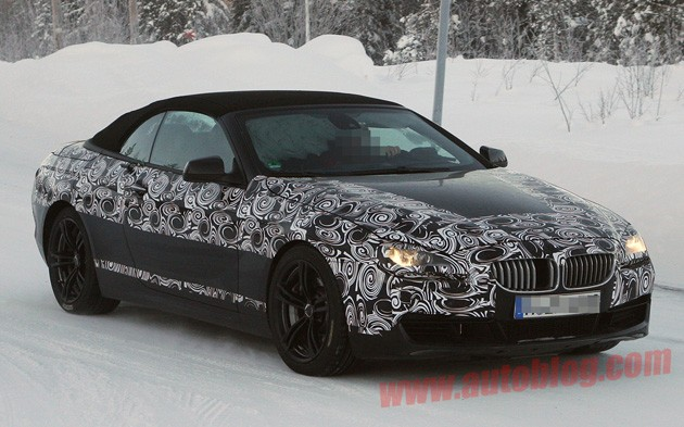 spy shot bmw m6 convertible