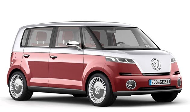 vw bulli concept microbus redux comes with ipad console. Black Bedroom Furniture Sets. Home Design Ideas