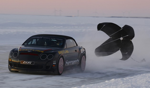 Bentley Ice Speed Record Continental Supersports