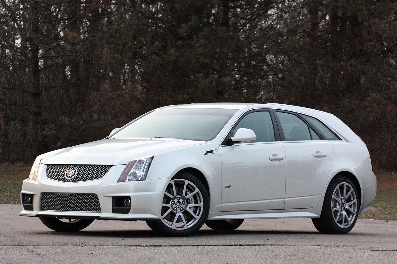 2011 Cadillac Cts V Sport Wagon Review Photo Gallery Autoblog