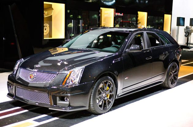 01 2011 Cadillac Cts V Wagon Black Diamond Chicago 2011630Opt