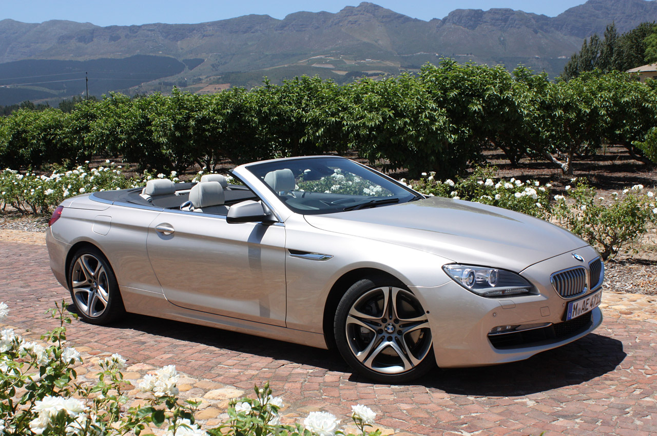 2012 bmw 6 series convertible first drive photo gallery. Black Bedroom Furniture Sets. Home Design Ideas