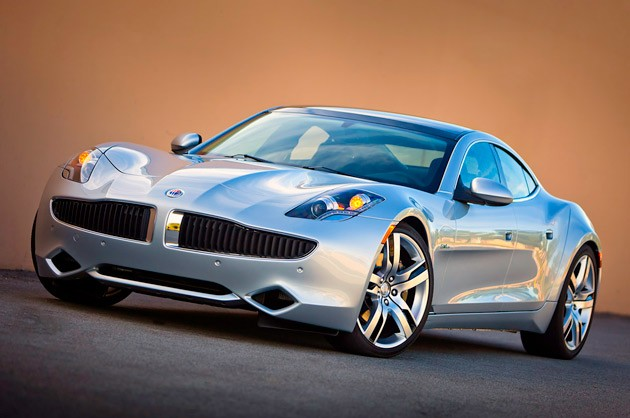 2012 Fisker Karma front three-quarter view