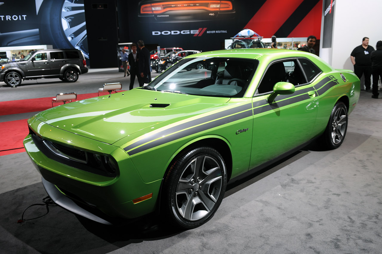 Green With Envy New Classic Challenger Color For 2011