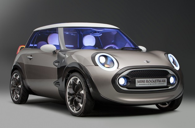 2011 Mini Rocketman concept - front three-quarter studio view