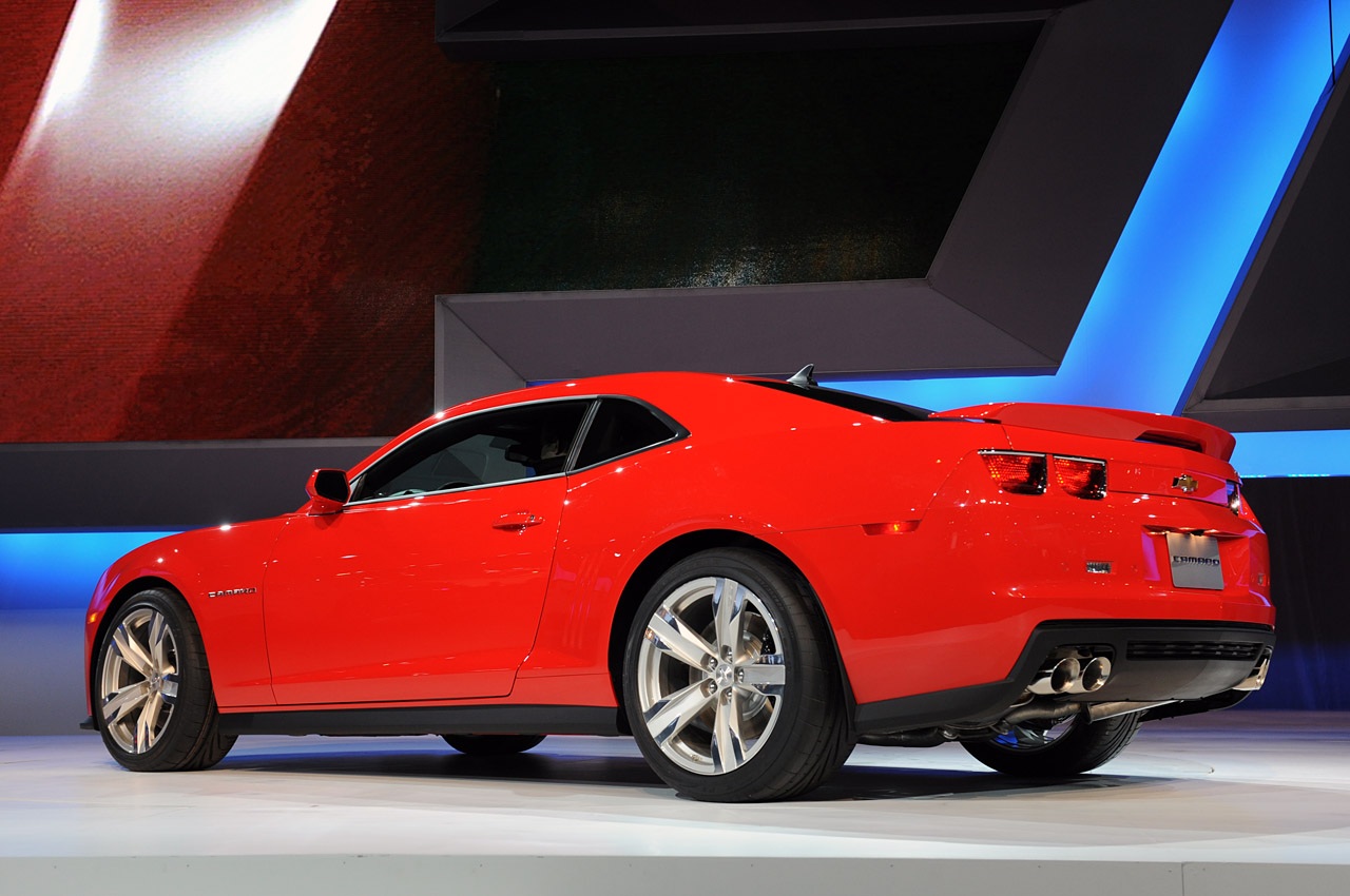 2012 Chevrolet Camaro Zl1 To Pack 580 Hp Autoblog