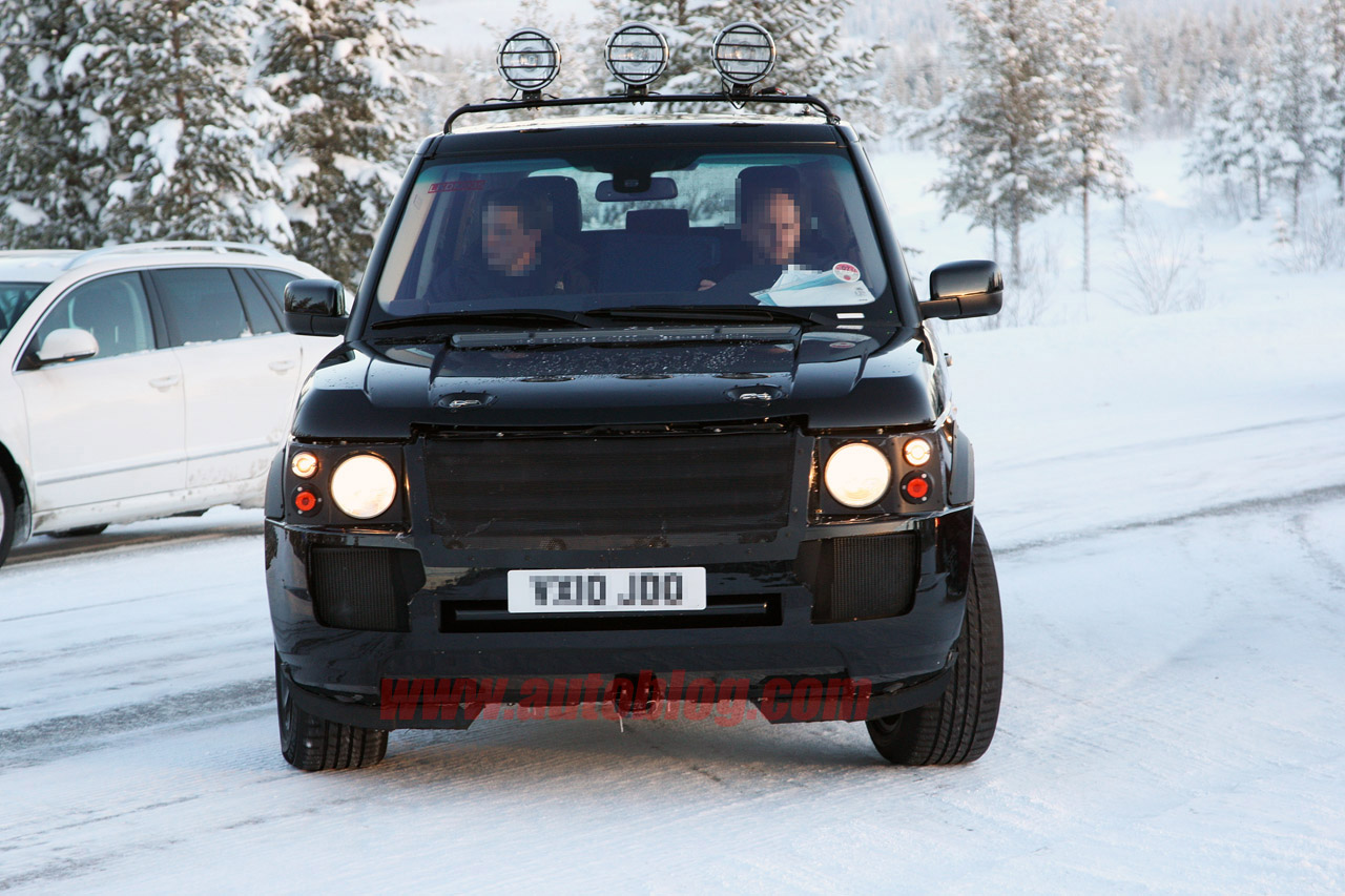 Spy Shots Land Rover Range Rover Photo Gallery Autoblog