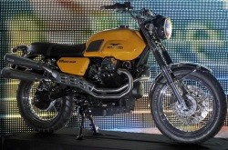 Moto Guzzi V7 Scrambler prototype