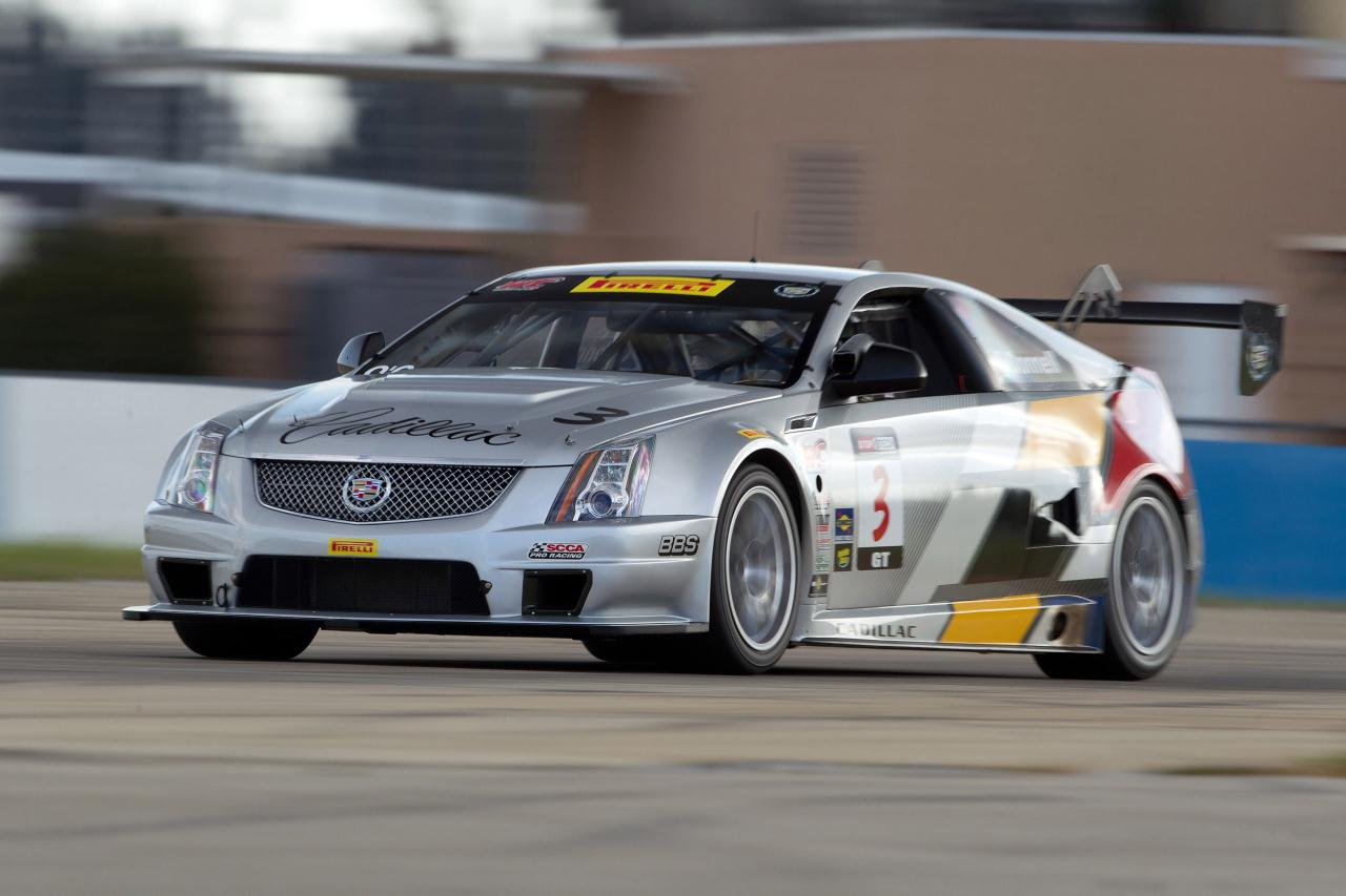 Pre Owned Cadillac Cts V Cadillac CTS-V Coupe Race Car at Sebring Photo Gallery - Autoblog