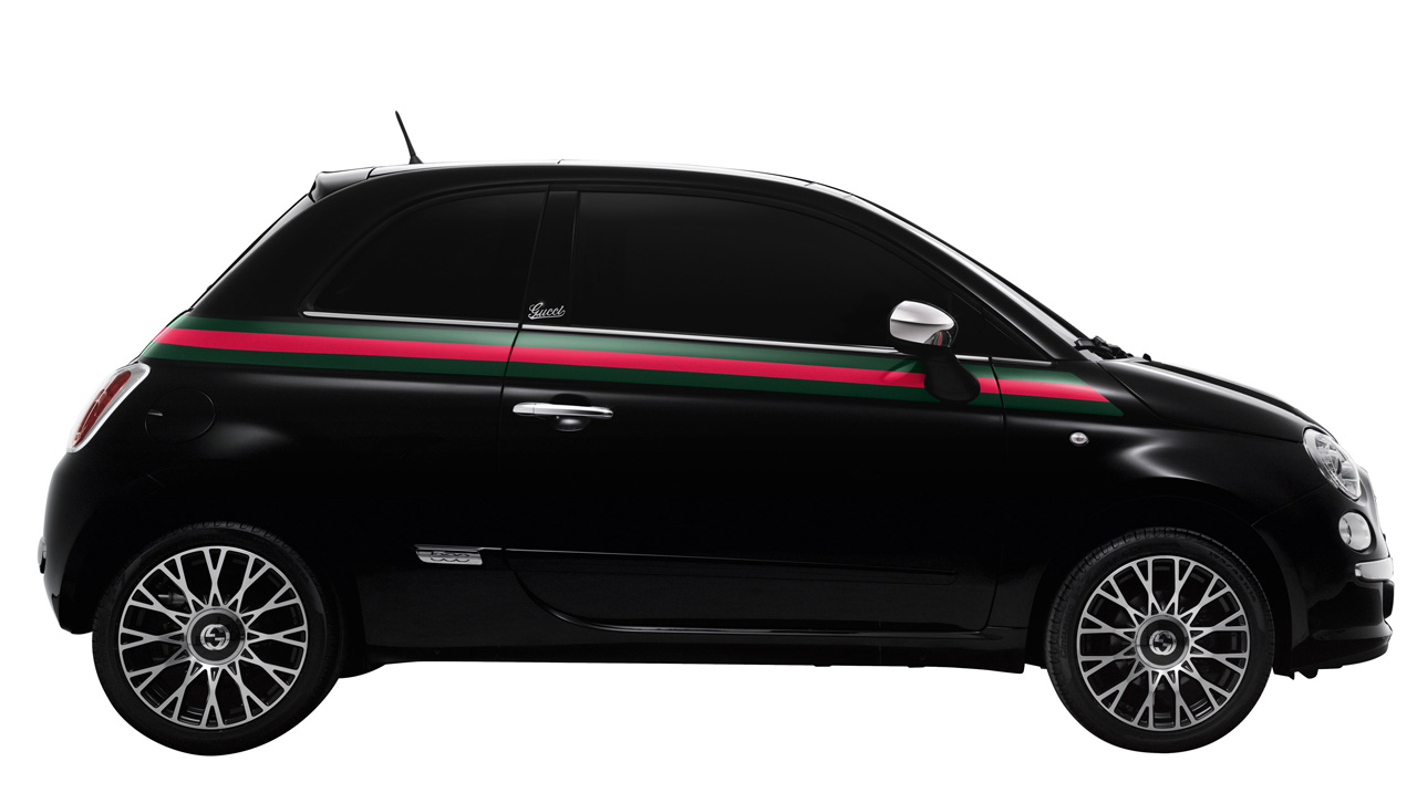 fiat 500 gucci confirmed for american debut at ny fashion. Black Bedroom Furniture Sets. Home Design Ideas