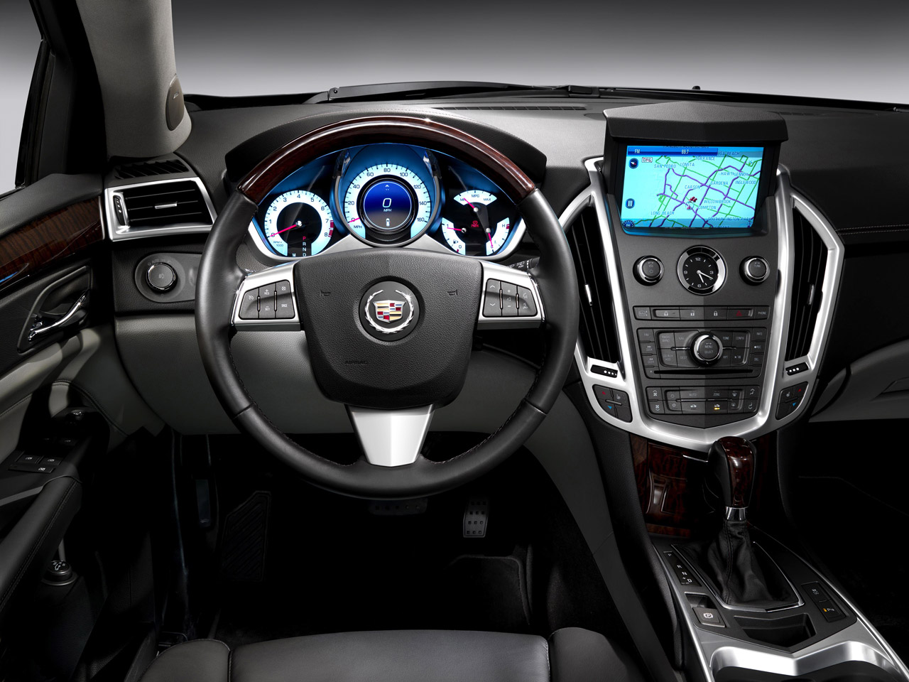 luxury auto cars weight adds stillb cadillac loses view road track test srx video