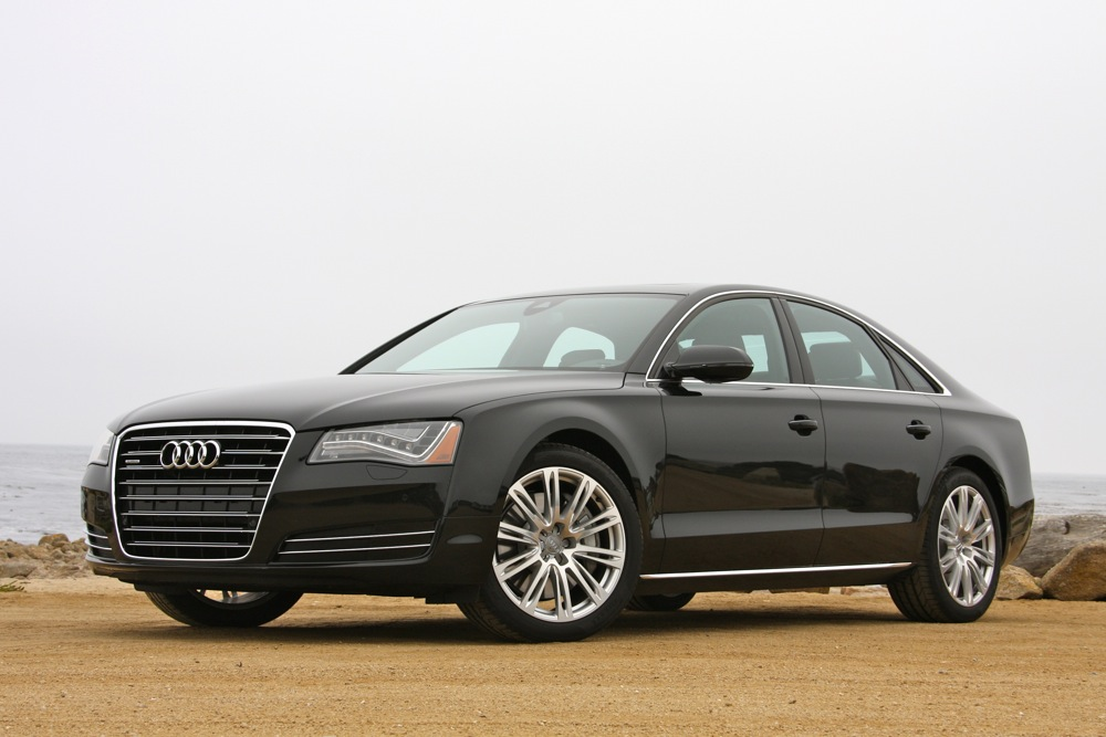 2013 audi a8 3 0t matches 4 2 v8 fuel economy numbers. Black Bedroom Furniture Sets. Home Design Ideas