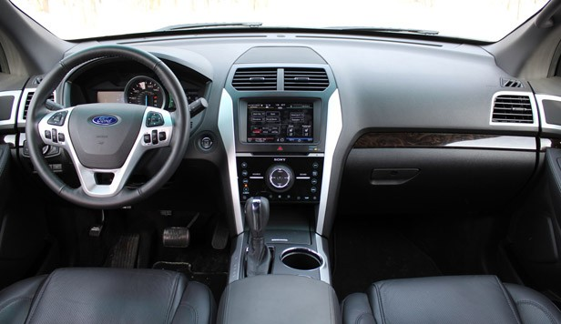 2011 Ford Explorer Limited interior