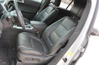 2011 Ford Explorer Limited front seats