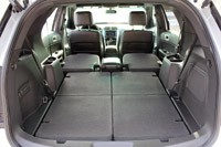 2011 ford explorer limited rear cargo area - Ford Explorer 2015 Trunk Space