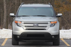 2011 Ford Explorer Limited front view