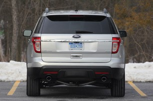 2011 Ford Explorer Limited rear view