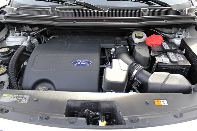 2011 Ford Explorer Limited engine