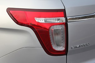 2011 Ford Explorer Limited taillight