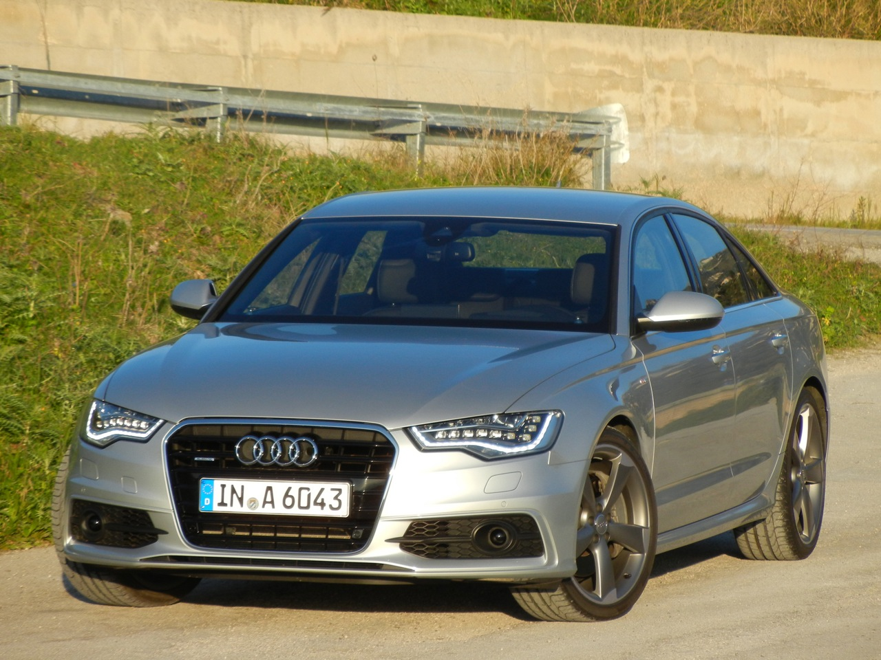 First Drive of the 2012 Audi A6   Nordschleife Autoblahg