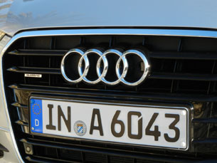 2012 Audi A6 grille