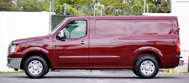 2012 Nissan NV side view
