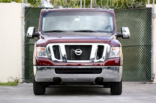 2012 Nissan NV front view
