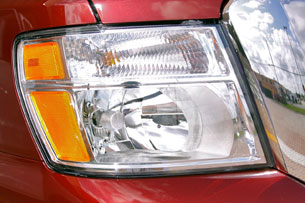 2012 Nissan NV headlight
