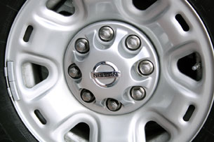2012 Nissan NV wheel