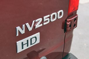 2012 Nissan NV badge