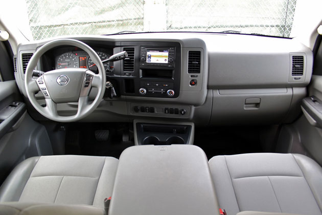 2012 Nissan NV interior