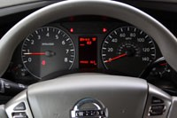 2012 Nissan NV gauges