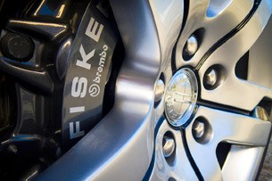 2012 Fisker Karma wheel detail