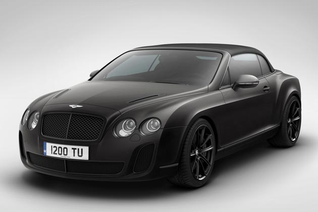 Bentley Continental Supersports Convertible 'Ice Speed Record